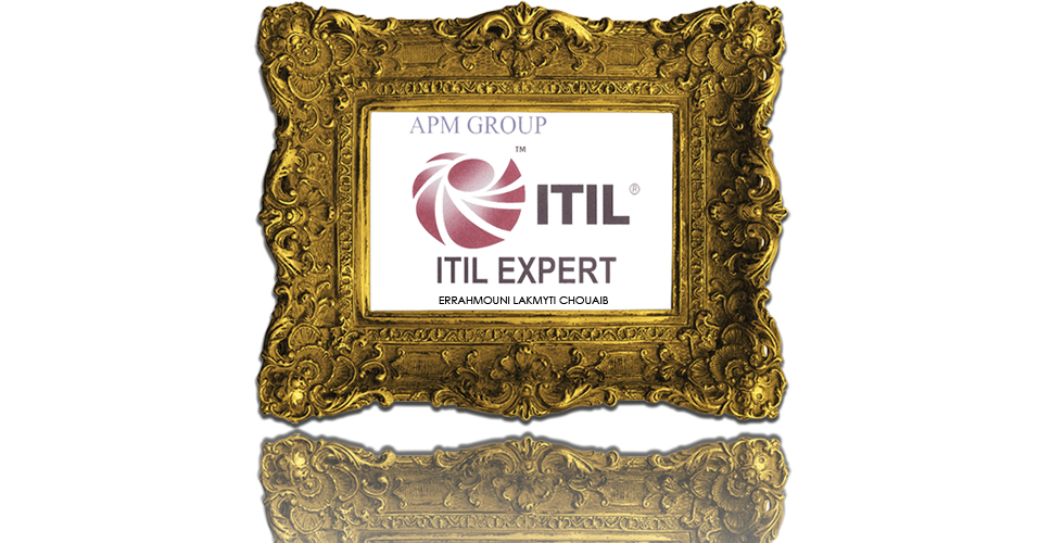 Errahmouni Lakmyti Chouaib Certified Itil V3 Expert How To Pass